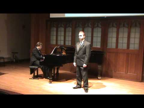 The first half of my 10/30/13 FSU Doctoral Recital.
