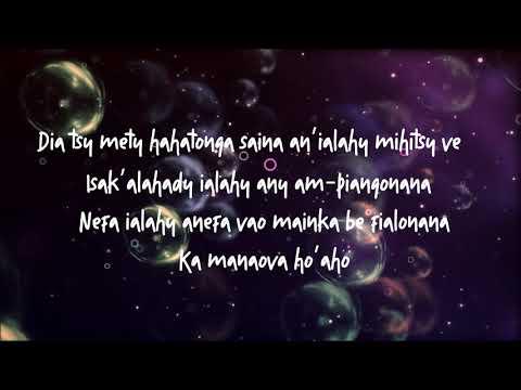 Princio- MANAOVA REVY MILAY [parole] │by Lyrics Mada 2019