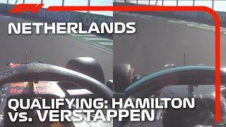 Verstappen vs. Hamilton: Qualifying Head-To-Head   2021 Dutch Grand Prix