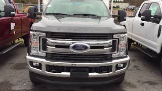 2017 and 2018 Ford F-350/F-250 Block Heater Cord Location