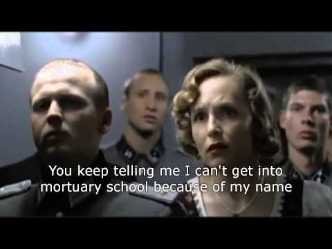 Hitler finds out his application to mortuary college is rejected