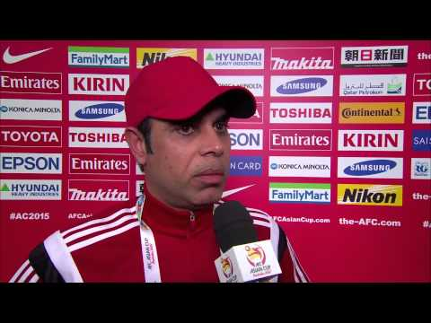 Post Match Interview: QF4 - Mahdi Ali (United Arab Emirates Coach)