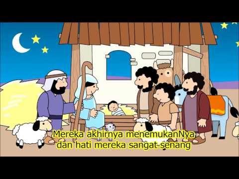 Film animasi Yesus Lahir dari tiny bible treasure