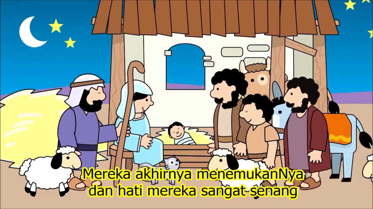 Film Animasi Yesus Lahir Dari Tiny Bible Treasure Youtube