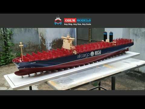 Triple E Class Container Vessel Model