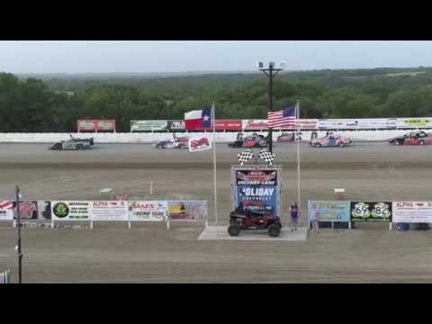 National Anthem Grayson County Speedway 6.30.18