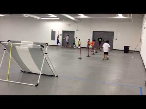 Best Buy Soccer Training Video 1: First coaching session Indoor drills and fundamentals