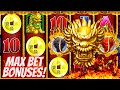 5 Dragons Deluxe Slot Machine MAX BET BONUSES - Great Session With FREE PLAY | Live Slot Play