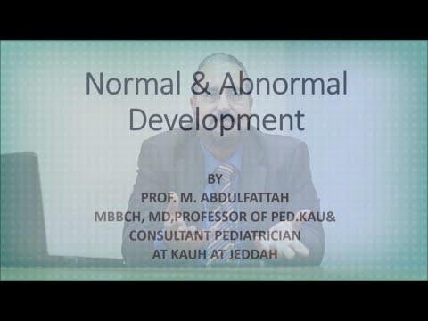 Normal & Abnormal Devolopment - Prof. Mohamed Abdelfattah