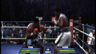 XBOX360 Fight Night Round 4 Mike Tyson - L.Mode Diff.Champion 2