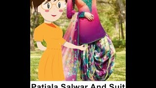 Patiala Salwar With Suit Cutting - Tailoring With Usha