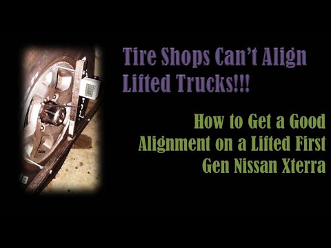 Tire Shops Can't Align Lifted Vehicles - How to Get an Alignment After UCAs