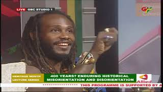 GTV Heritage Month Lecture Series: 400 Years? Enduring Historical Misorientation and Disorientation
