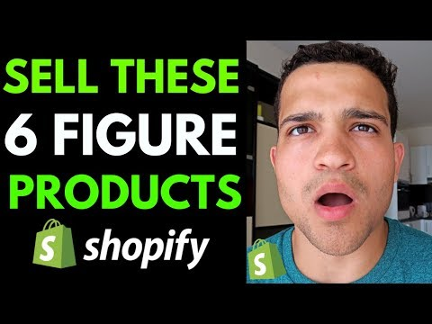 4 Dropshipping Products That Will Make 6 Figures | Shopify Dropshipping Winning Products 2020 thumbnail