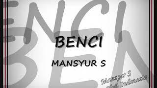 Gambar cover Mansyur S   Benci