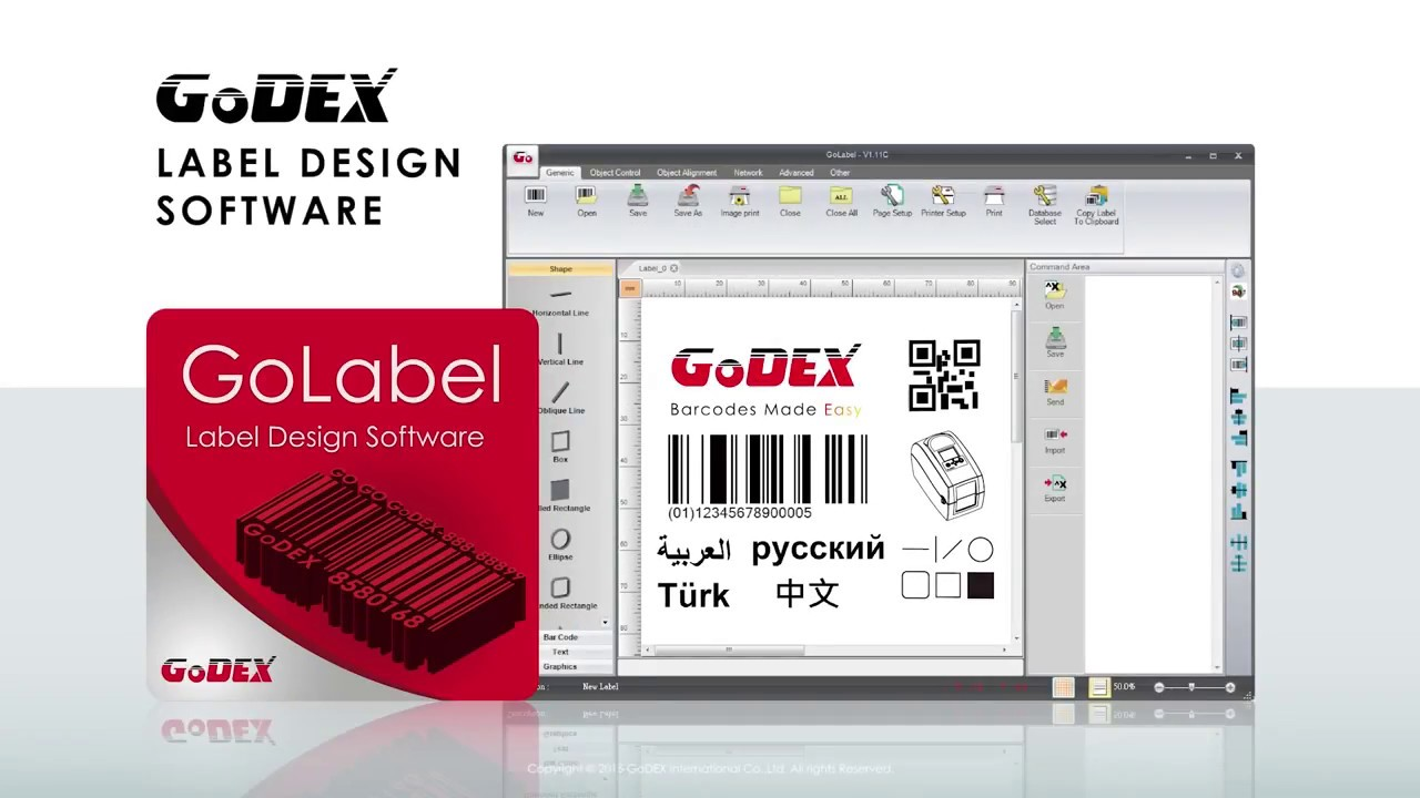 Bar Code Data Ltd  GoLabel FREE Label software