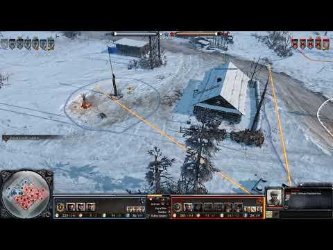 CoH 2 - American Tanks in Russian Clothes [CoH2] [Company of Heroes 2]