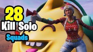 28 Kill Solo vs Squads (Fortnite Season 7)