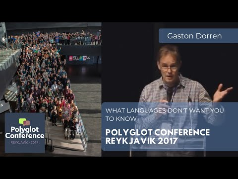 Gaston Dorren - What Languages Don