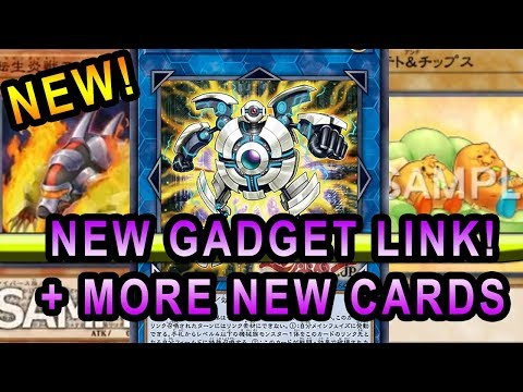 New Gadget Link Monster! + More New Cards! New SalamanGreat, New Potatoe Archetype Yugioh!