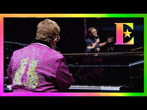 Elton John & Taron Egerton – Your Song (Brighton & Hove 2019)