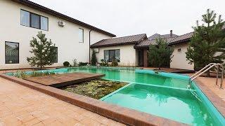 видео Проект  дома с бассейном и беседкой