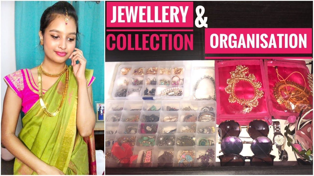 JEWELLERY COLLECTION & ORGANISATION || Makeover in Telugu