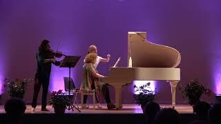 Brahms violin sonata 2 - Chisson/Atschba