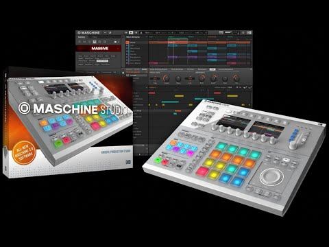 Native Instruments Maschine Studio White