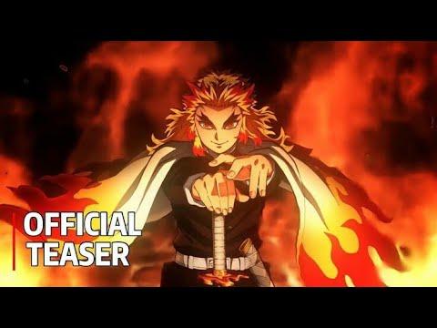 Kimetsu no Yaiba[Demon Slayer]=O Filme / O Trem Do Infinito™{Trailer Legendado PT/BR}
