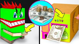 How To Make DIY Piggy Banks For Cash And Coins