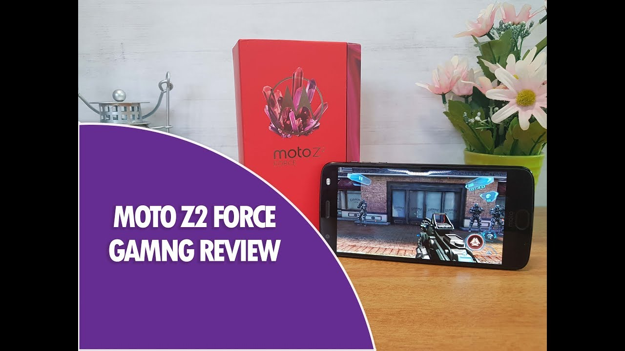 Moto Z2 Force Gaming Review and Heating with Battery Drain