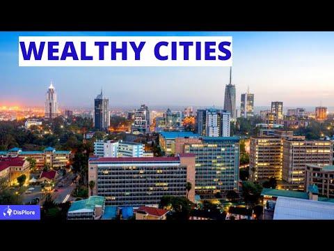 Top 10 Wealthiest Cities in Africa