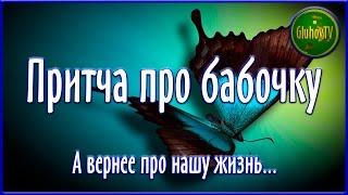 Притча про бабочку. А вернее про нашу жизнь...