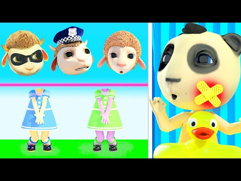 Don't Feel Jealous, Baby | Kids Pretend play Ambulance Rescue Team + More Baby Songs & Cartoons #348