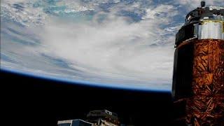 شاهد: كيف يبدو الإعصار مايكل من محطة الفضاء الدولية