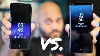 Samsung Galaxy Note 8 vs Samsung Galaxy S8 Plus!