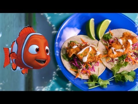 Nemo's No Fish Tofu Tacos Recipe | Inspired By Disney ♦ Pixar's Finding Nemo