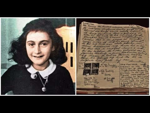 New Pages Uncovered From Anne Frank's Diary Reveal Her Secret Dirty Jokes