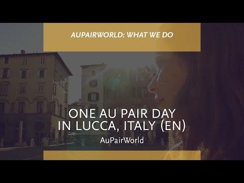 One Au Pair Day in Lucca, Italy (EN)