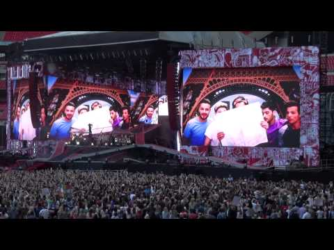 One Direction Midnight Memories Wembley Stadium 7th June