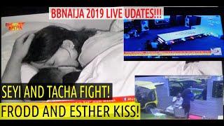 BbNaija 2019 LIVE UPDATES | HOUSEMATES OPPO RUNWAY TASK | SEYI & TACHA F!GHT | FRODD K!SS ESTHER