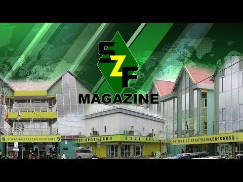 SZF Magazine 1-12-2017 Stop geweld, Wereld AIDS Dag, Dag v/d Mens m. Beperking