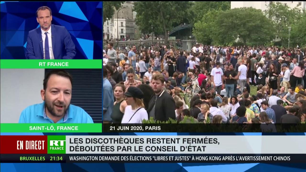 Discothèques fermées : «On est traités comme des moins que rien » estime Matthieu Lebrun