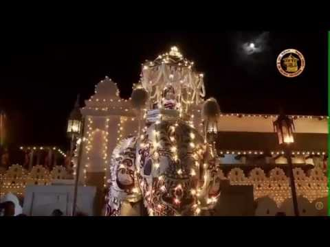 Sri Dalada Final Randoli Perahera  - ශ්රී දළඳා පෙරහැරේ අවසන් රන්දෝලි පෙරහැර  | 2016-08-16
