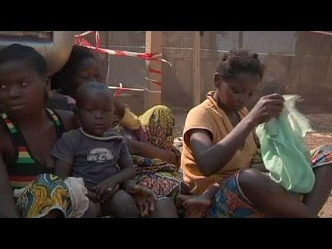 Almost a million people flee fighting in the Central African Republic