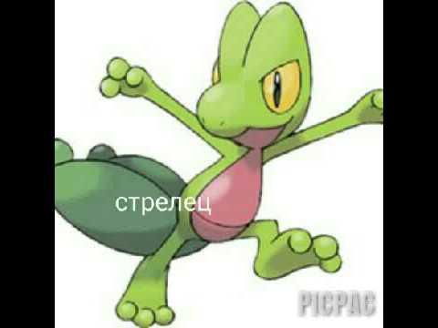 картинки травяных покемонов