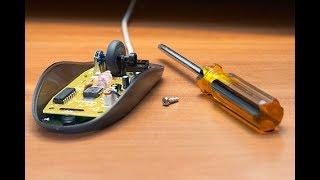 Ремонт мышки (восстановление провода)
