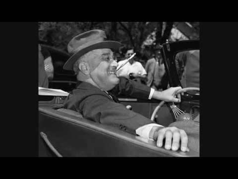 Radio reports on the death of President Franklin D. Roosevelt (April 12, 1945)