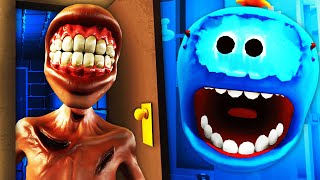 Summoning SCP303 THE DOORMAN With MEESEEKS (Rick and Morty VR Funny Gameplay)